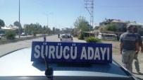 SÜRÜCÜ KURSU - Sürücü Adayları Direksiyon Heyecanı Yaşadı