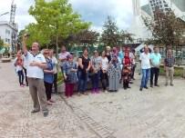 ÇEKEN AKINTI - Akçakoca'da Çeken Akıntıya Karşı Mobil Bilgilendirme