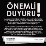 ÇEKMEKÖY BELEDİYESİ - Çekmeköy Belediyesi'nin Adı Kullanılarak Atılan SMS İle İlgili Suç Duyurusu