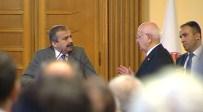 SIRRI SÜREYYA ÖNDER - Meclis Başkanının Kabulünde 'Öcalan' Gerginliği