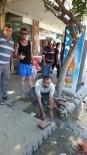 Burhaniye'de Suyun Boşa Akma Tepkisi