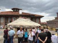 BİLEK GÜREŞİ - Bursa'da Kırgız Otağı