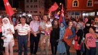 Demokrasi Nöbetine Suriyelilerden Destek