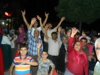 MEMİŞ İNAN - Erkenek'te Demokrasi Nöbeti