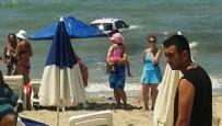 AYDIN BELEDİYESİ - Denizde yüzenlere araba çarptı: Ölü ve yaralılar var!