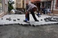 Süleymanpaşa Belediyesi'nin Yol Ve Kaldırım Yapım Çalışmaları Devam Ediyor