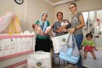 ÜÇÜZ BEBEK - Turgutlu'da 'Hoş Geldin Bebek' Projesinde Binden Fazla Bebek Ziyaret Edildi