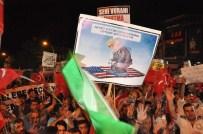 FEYAT ASYA - Vali Yavuz, Demokrasi Nöbetine Katıldı