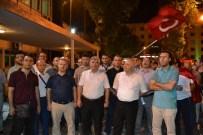 MUSTAFA TALHA GÖNÜLLÜ - Adıyaman Üniversitesi Çalışanlarından Demokrasi Nöbetinde