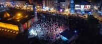KASIDE - Erzurum'da Demokrasi Nöbetinde 7. Gün