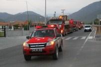 DEĞIRMENBAŞı - Fethiye Orman İşletme Müdürlüğü'nden Demokrasi Nöbetine Destek