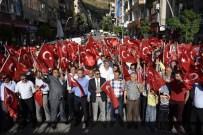 TÜRK SAĞLıK SEN - Gümüşhane'de Sağlık Ve Sosyal Hizmet Çalışanlarından Darbe Tepkisi