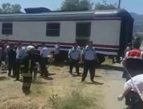 İŞÇİ SERVİSİ - Manisa'da tren minibüsü biçti: 6 ölü