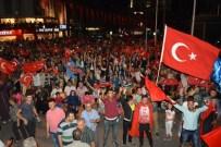EMRAH ÖZDEMİR - Niğde'de CHP Ve AK Parti İl Başkanları Demokrasi Nöbetinde