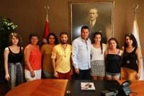 ORTA DOĞU TEKNIK ÜNIVERSITESI - ODTÜ'lü Öğrencilerden Başkan Kocadon'a Ziyaret