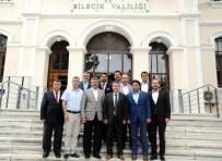 MEHMET REMZİ ARAYIT - Vali Elban'a, Eskişehir'in İlçe Belediye Başkanlarından Ziyaret