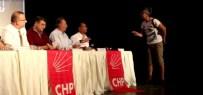 TUNCAY ÖZKAN - CHP'nin Toplantısını 'Alkolik' Kadın Bastı