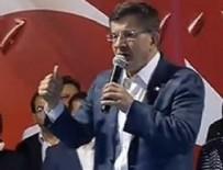 Davutoğlu'ndan Gülen'e: Asıl ahmak sensin!