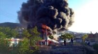 HELYUM GAZI - Bursa'da Büyük Yangın