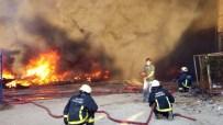 HELYUM GAZI - Bursa'da Korkutan Yangın