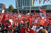TÜRK MÜHENDIS VE MIMAR ODALARı BIRLIĞI - 'Cumhuriyet Ve Demokrasi Mitingi' Sona Erdi