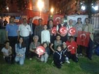 NENE HATUN - Erzurum İzcileri Demokrasi Nöbetinde
