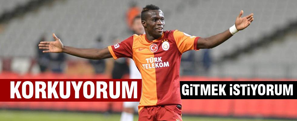 Galatasaraylı futbolcu ayrılmak isitiyor