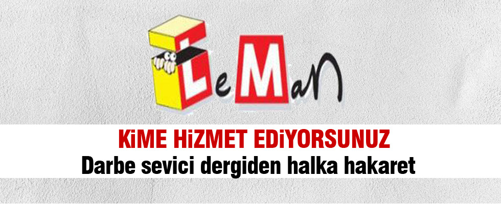 Leman Dergisi hakla alay etti