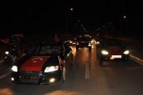 Seydişehir'de Darbe Girişimine Tepkiler Sürüyor