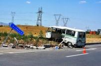 Seydişehir'de Trafik Kazası Açıklaması İki Yaralı