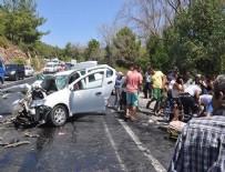 Aydın'da katliam gibi kaza: Çok sayıda ölü ve yaralı var