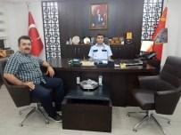 HARP OKULU - Babat Aşiret Liderinden Emniyet Müdürü Çetiner'e Ziyaret