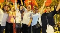 Burhaniye'de Halk Eğitimciler Demokrasi Nöbetinde