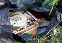 FETO'nun Kitap Ve CD'leri Boş Arazide Bulundu