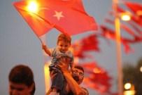 TALAS BELEDIYESI - Kayseri'de 7'Den 70'E Demokrasi Nöbeti