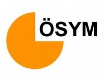 ÖSYM - ÖSYM'den DGS adaylarına duyuru