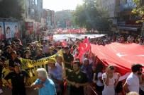 KADİR ALBAYRAK - Tekirdağ'da Darbeye Karşı Dev Yürüyüş