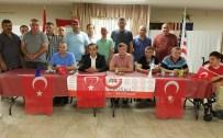 SERDAR KıLıÇ - ABD'deki Türk Toplulukları Hain Kalkışmaya Tepki Gösterdi