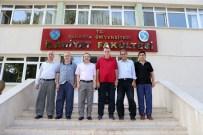 OTORITE - Başkan Toçoğlu, İlahiyat Fakültesi Yönetimini Ziyaret Etti