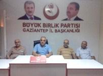 MEHMET TIRYAKI - BBP Gaziantep İl Yönetiminde Görev Dağılımı Yapıldı.