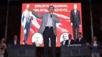 ŞERIF YıLMAZ - Burdur'da Binlerce Vatandaş Ellerinde Türk Bayrakları İle Demokrasi Yürüyüşüne Katıldı