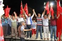 Demokrasi Nöbetine Siyasi Partiler Beraber Katıldı