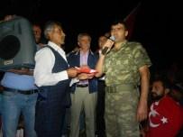 MEMİŞ İNAN - Doğanşehir'de Demokrasi Nöbeti Sürüyor