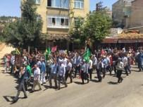 Eğil'de Demokrasi Yürüyüşü Yapıldı
