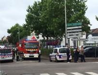 REHİNE KRİZİ - Fransa'da rehine krizi