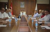 MUSTAFA ELDIVAN - Jeotermal Dağıtım Tesis Proje Toplantısı Yapıldı