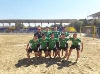 İZMIRSPOR - Manisa BBSK U17 Takımı Plaj Futbolunda Şampiyon Oldu