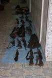 ASKERİ MÜHİMMAT - Nusaybin'de Terör Örgütüne Ait Cephane Ve Terörist Cesetleri Bulundu