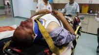 CEVHER DUDAYEV - Otomobil İle Motosiklet Çarpıştı Açıklaması 1 Yaralı