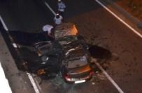 Otomobil Köprüden Uçtu Açıklaması 1 Yaralı